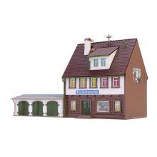 47776 Polizeiwache mit Garage dreiständig - Viessmann N