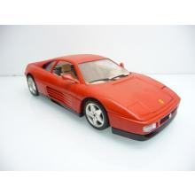 Ferrari 348 tb 1989 in rot aus Italien - Bburago 1:18