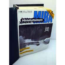 Miba Modelleisenbahnhefte - Kompletter Jahrgangsordner 1988