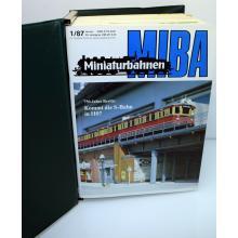 Miba Modelleisenbahnhefte - Kompletter Jahrgangsordner 1987