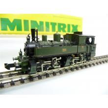 Minitrix N Tenderlok, Gattung BB II, Bauart B´B n4v (Mallet), grün/schwarz OVP