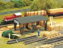 6047 H0 Holzhandlung Busch H0