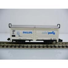 Minitrix N 11032 Schiebewandwagen PHILIPS 057 1 987-6 weiß ohne OVP