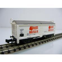 Minitrix N 13268 Schiebewandwagen WELLA 077 1 000-1 weiß/2-achsig ohne OVP
