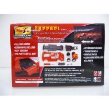 Ferrari F50 rot Die-Cast Metal Body Model Kit MINI BAUSATZ Neuware