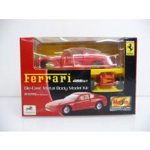 Ferrari 456GT rot Die-Cast Metal Body Model Kit MINI BAUSATZ Neuware