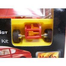 Ferrari 456GT rot Die-Cast Metal Body Model Kit MINI BAUSATZ Neuware