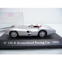 ixo 1:43 Mercedes Benz W 196 R Streamlined Racing Car 1955 - Wie neu in PC Vitrine
