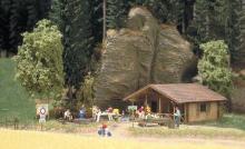 Blockhütte Busch H0 1035