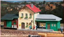 11331 Bahnhof Hohendorf Auhagen H0