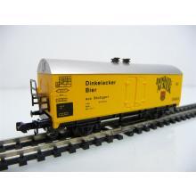 Ibertren N 386 Wärmeschutzwagen / Kühlwagen 2-achsig gelb Dinkelacker