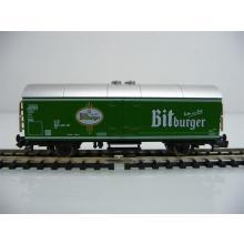 Fleischmann N 8322K Kühlwagen / Bierwagen Gattung Ichs 2-achsig Bitburger