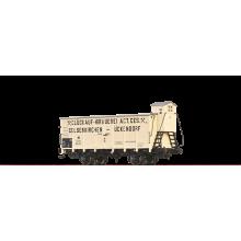 Brawa H0 49779 Gedeckter Güterwagen G10 GLÜCKAUF BRAUEREI GELSENKIRCHEN 600 107 K.P.E.V. Neuware