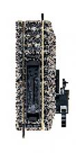 6114 Entkupplungsgleis mit Handbetrieb 100mm