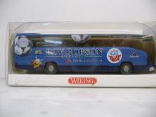 714 11 44 Reisebus MB O 404 RHD Hansa Rostock Wiking H0 1:87