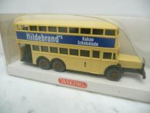 873 03 27 MB D 38 Doppeldecker-Bus Hildebrands Wiking 1:87