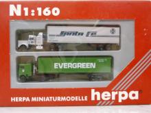 181426 MAN F8 1993 Milchtank-HZ Chromtank Herpa H0