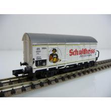 Arnold N 4287 Wärmeschutzwagen / Bierwagen mit Brhs Wicküler Pilsner