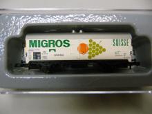 80316 Insider Jahreswagen 2016 Gedeckter Güterwagen von MIGROS Schweiz - Märklin Z