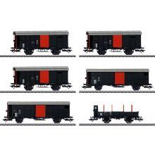 Güterwagen-Set zum Köfferli Ep. II Märklin H0 46050