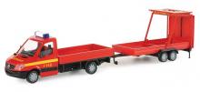 047326 Herpa MB Sprinter 06 Doppelkabine Feuerwehr  Verkehrssi