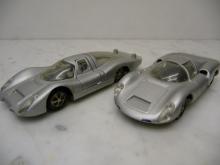 Modellauto-Set mit 4 Porsche Museumsmodellen - Märklin