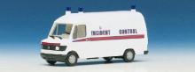 041260 MB 207 D Kasenwagen Hochraum Incident Control Herpa H0