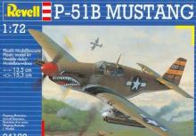 04137 Bausatz Kampfflugzeug P-51B Mustang Revell 1:72