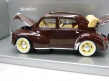 8048 Renault 4 CV Cabrio Braunrot ( maron) Solido 1:18