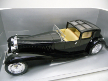 8001 Bugatti Royale schwarz Cabrio 1:18 Die Cast Model Solido