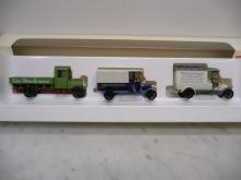 1888 LKW Oldtimer Set 3-teilig Vollmetall M