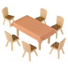 180442 4 Tische und 24 Stühle - Faller H0