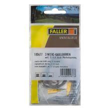 3 Micro-Kabelbirnen weiß Faller 180677