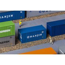 180825 20 Container HANJIN - Faller H0