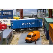 180842 40 Hi-Cube Container HANJIN - Faller H0