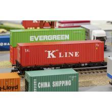 180848 40 Hi-Cube Container K-LINE - Faller H0