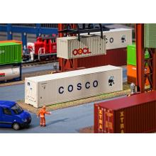 180851 40 Hi-Cube Kühlcontainer COSCO - Faller H0
