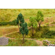 4 Bäume, sortiert Faller H0 181379