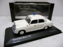 430033191 Mercedes-Benz 180 POLIZEI TRIER Minichamps 1:43