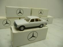 MB W123 Limousine grau Wiking-Werbemodell in OVP