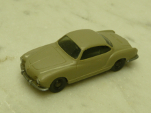 0034 4 F VW Karmann Ghia 1966 olivgrau Wiking 1:87