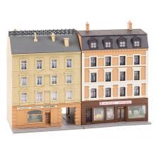 Stadthäuser mit Apotheke und Delikatessenhandel Faller N 232384
