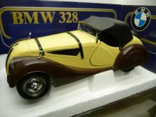 TG6 BMW 328 Roadster m Hardtop creme 1936 Polistil 1:18