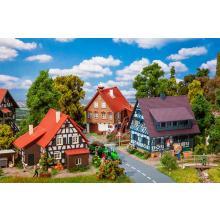 Aktions-Set Weindorf Faller H0 190076