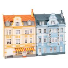 2 Stadt-Reliefhäuser, 3-stöckig Faller H0 191757