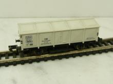 5902 Klappdeckelwagen Kalk DB 72 132 grauweiss Arnold N