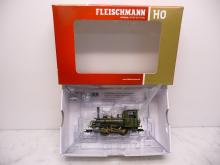 Fleischmann N 1:160 7968 Zahnradlok BR 740 gelb - Gebraucht ohne OVP