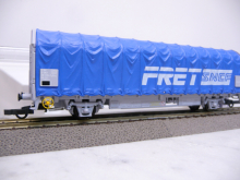 Planenwagen 87 SNCF FRET 338 3 284-2 Kils Electrotren 1536K H0