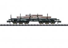 15453 Schwerlastwagen SA705 beladen mit Stahlbrammen Minitrix N