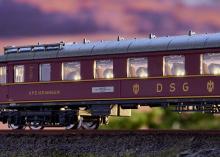 15680 Minitrix N 1:160 Schnellzug-Wagenset D 182 1966 5-teilig